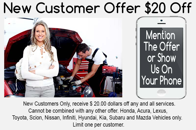Scion-Repair-Service-Northridge-Woodland Hills